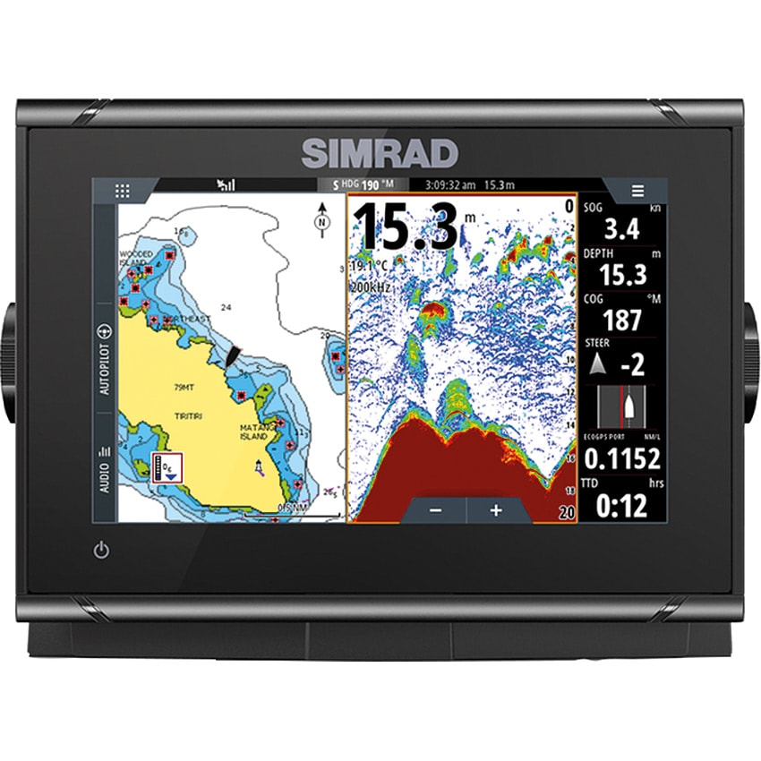 Simrad GO7 XSR med Activeimaging 3 in1