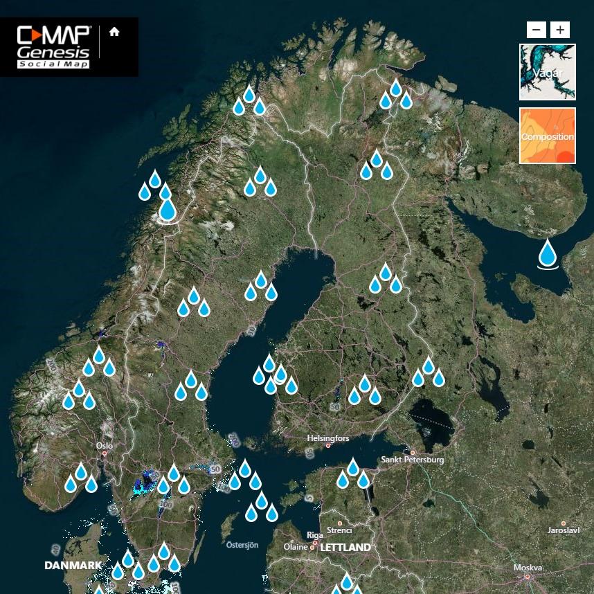 C Map Genesis Edge 1år