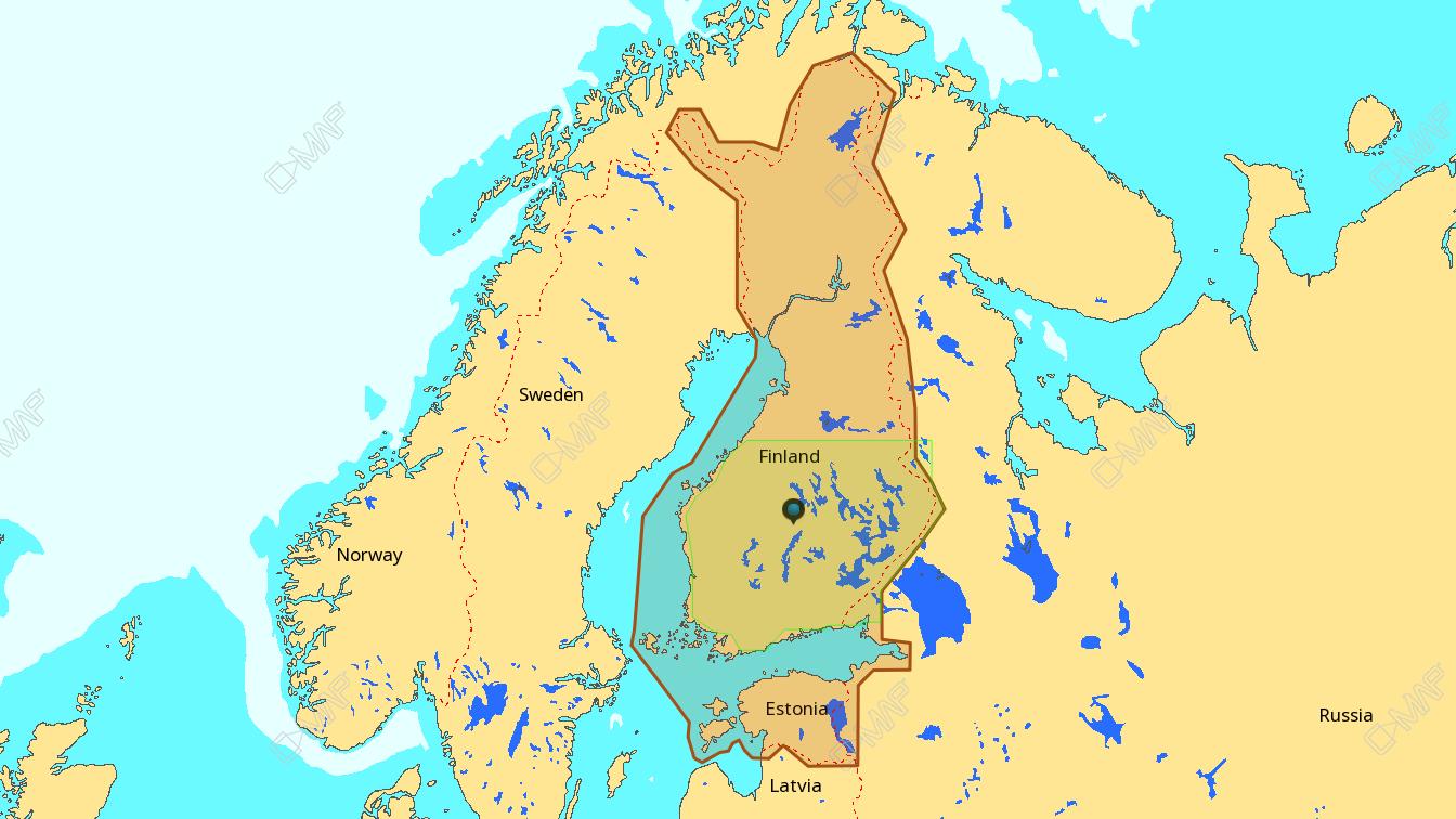 C-MAP MAX-N+ W Y326/Finland Lakes