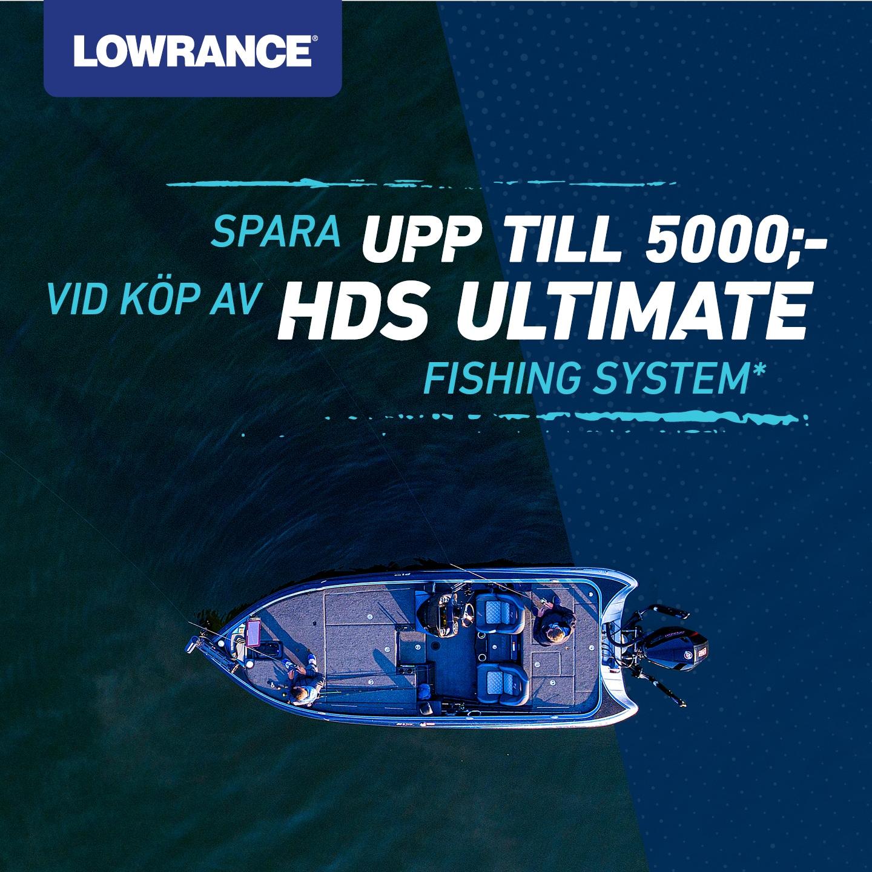 """Lowrance HDS Live 7""""  kampanj 2021 Värdepkt"""