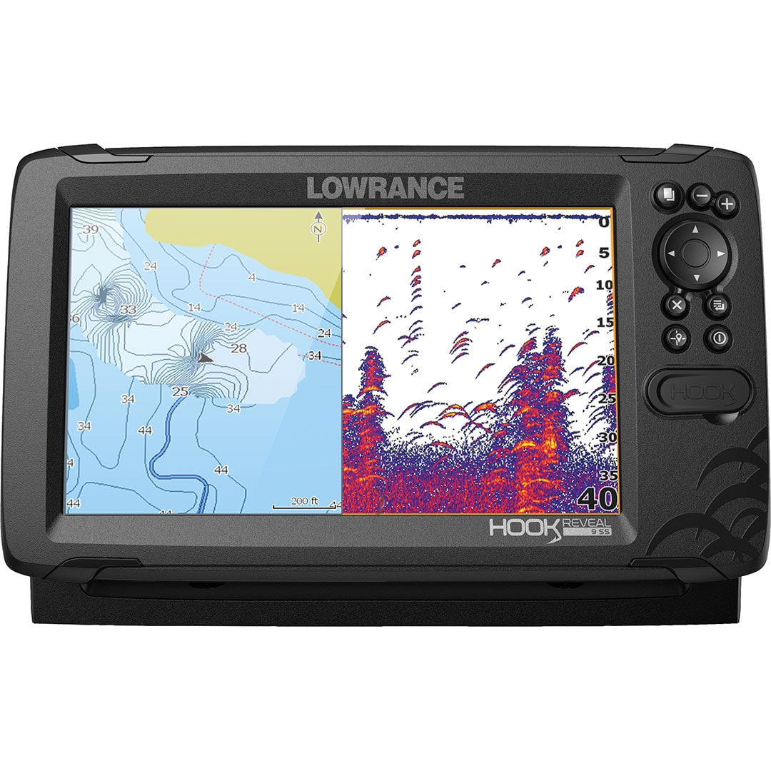 Lowrance HOOK REVEAL 9 Givare TripleShot (3-in-1)(BV*).