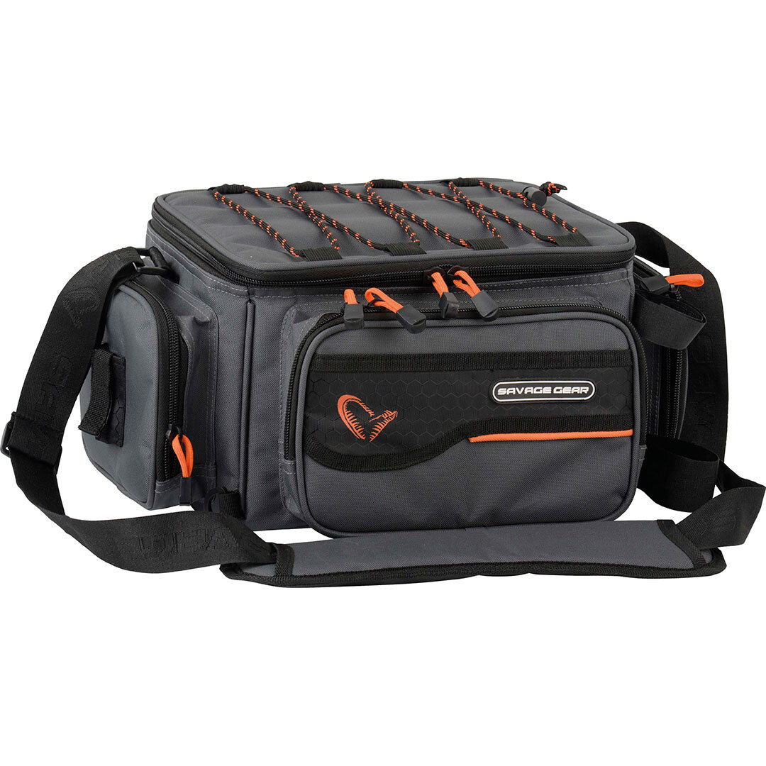 Savage Gear System Box Bag & PP Bags 3box M