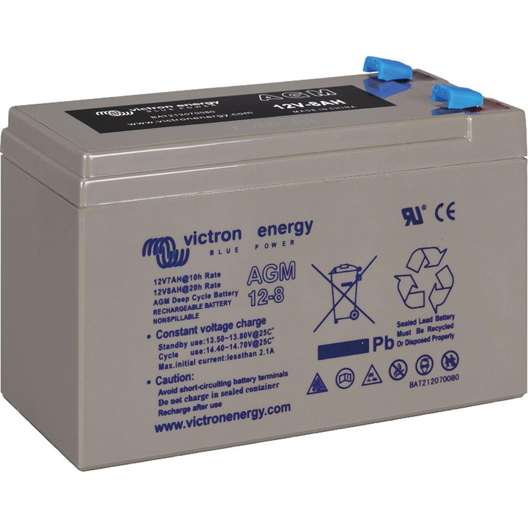 Victron AGMBatteri 12v 8Ah till bärbara (portabla) ekolod