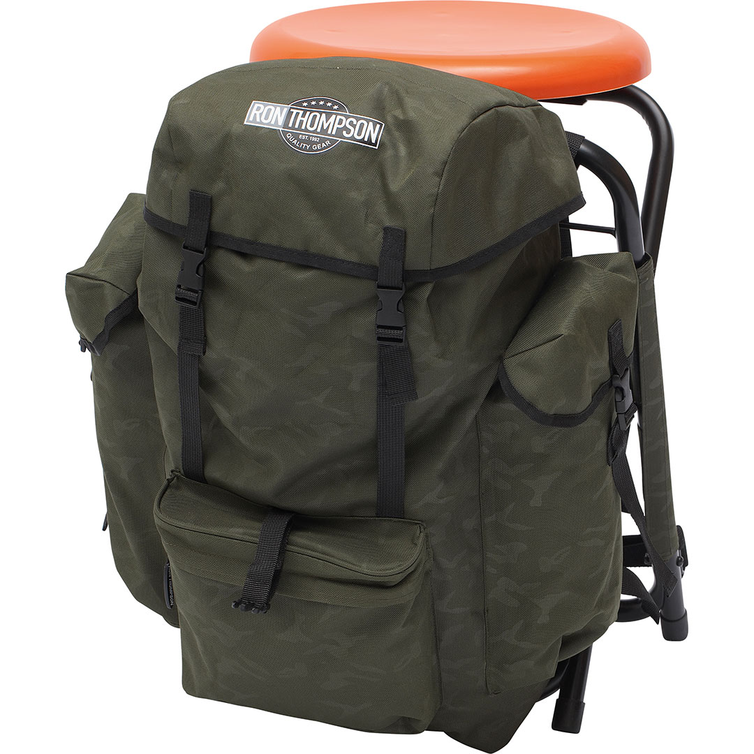 Ron Thompson Heavy Duty V2 360 Backpack Chair (34x32x51cm)