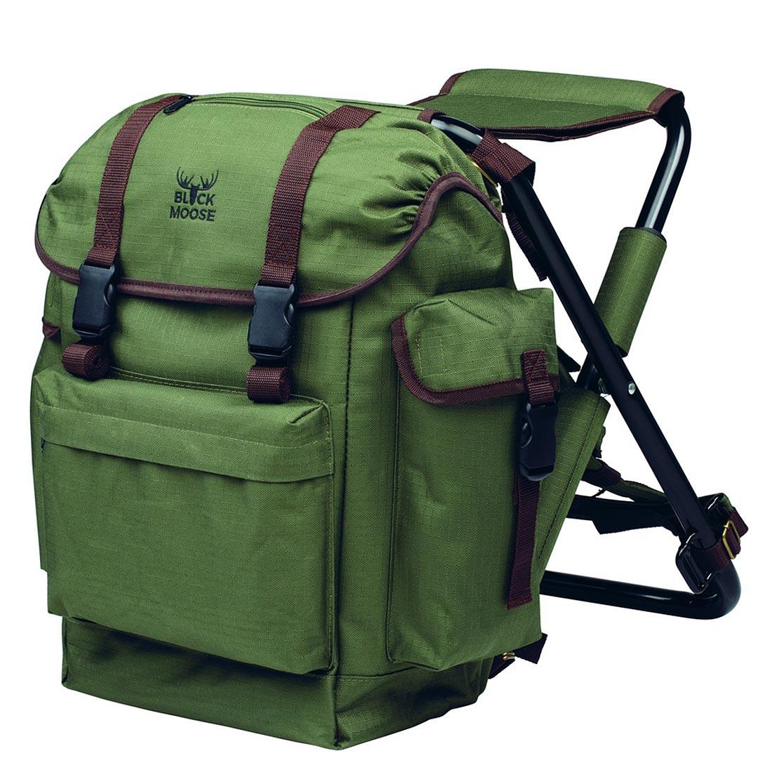 BlackMoose Stolryggsäck med stol Grön