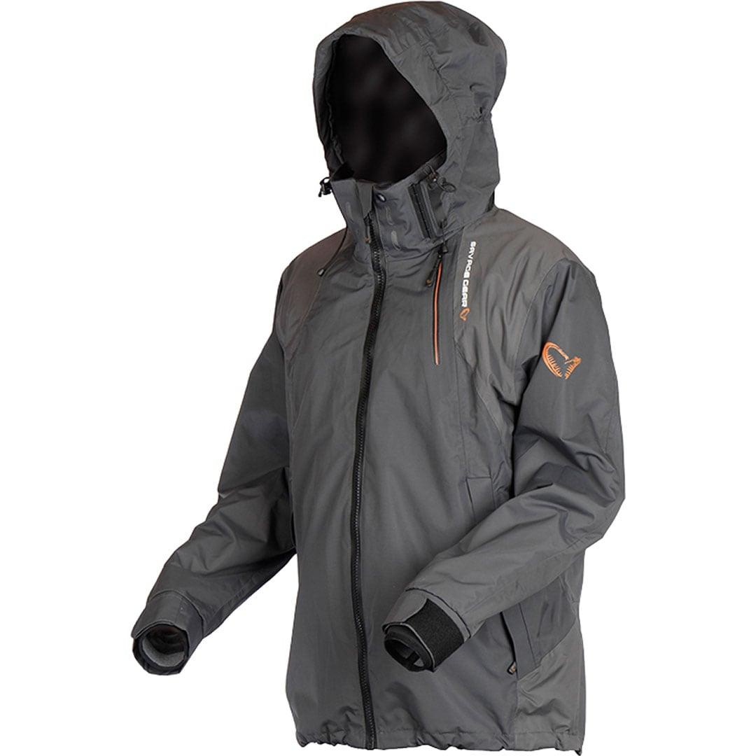Savage Gear Black Jacket Grey.