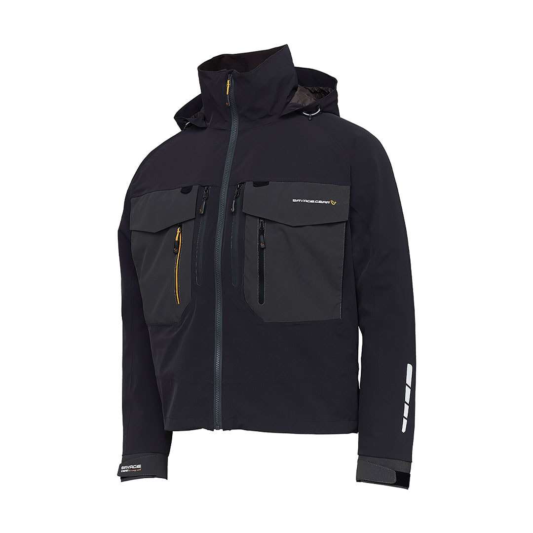 Savage Gear SG6 Wading Jacket Black/Grey