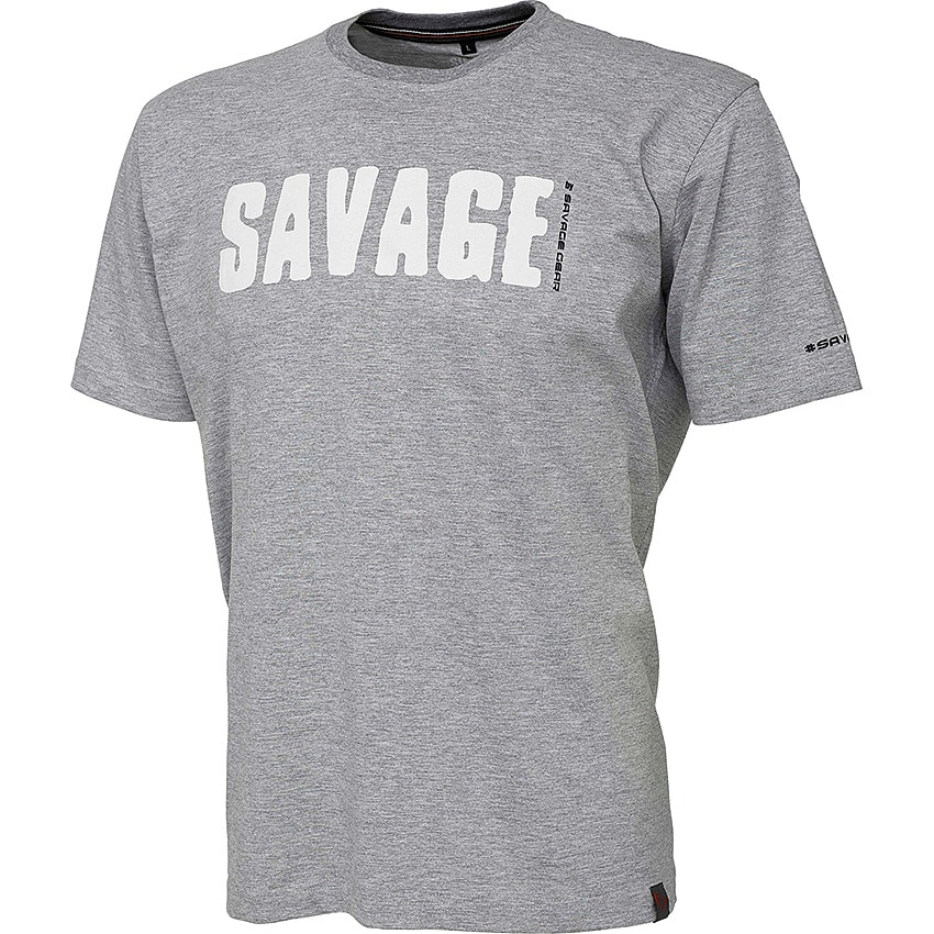 Savage Gear Simply Savage Tee Grey