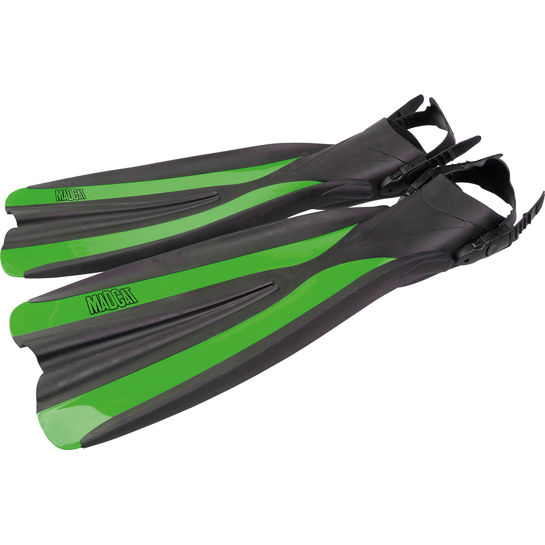 MadCat Belly Boat Fins XL