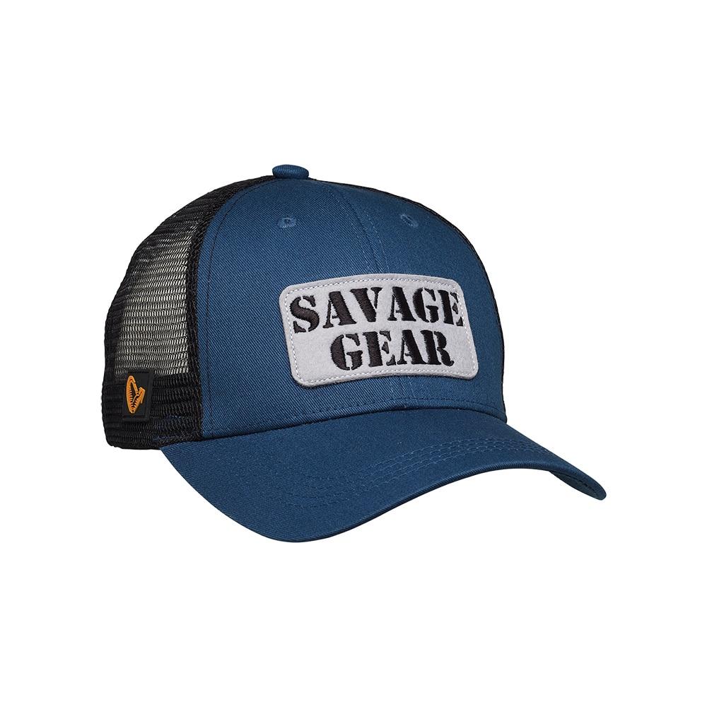 Savage Gear Logo Badge Cap Teal Blue