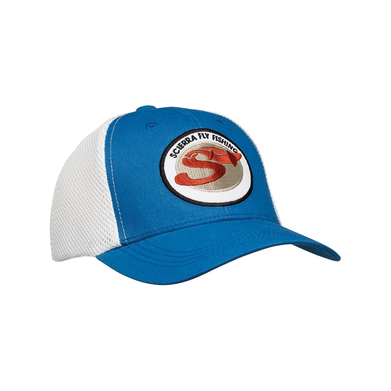 Scierra Badge Baseball Cap Tile Blue