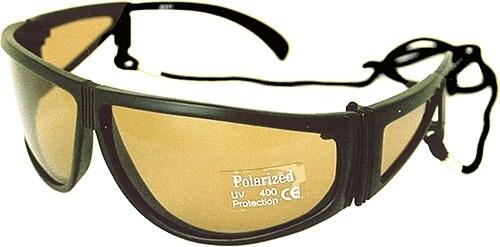 Power Tackle Solglasögon 323/sidoskydd/gul