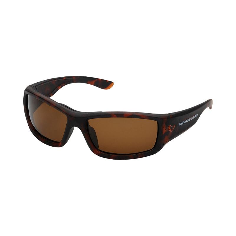 Savage Gear Savage2 Polarized Sunglasses Brown Floating