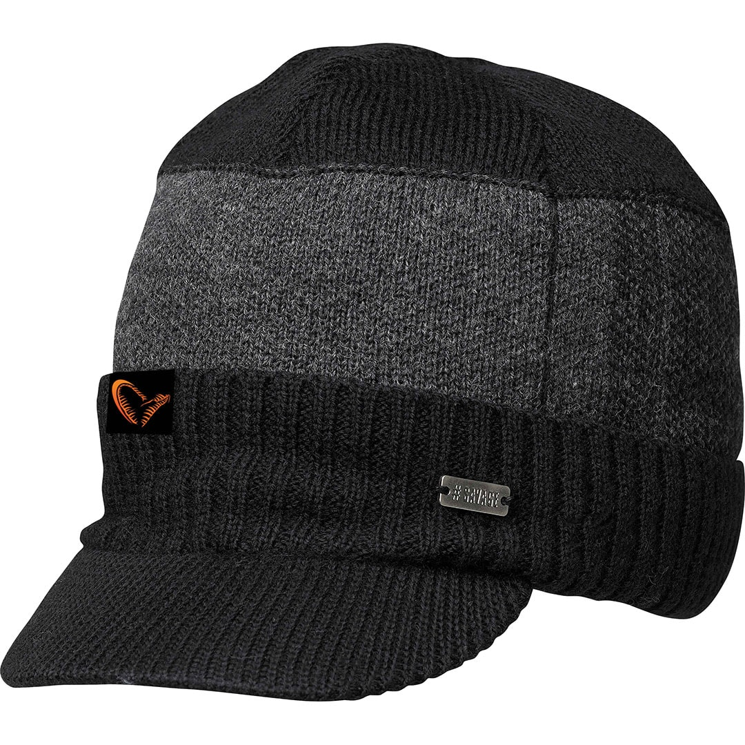 Savage Gear Knitted Beanie W/Brim