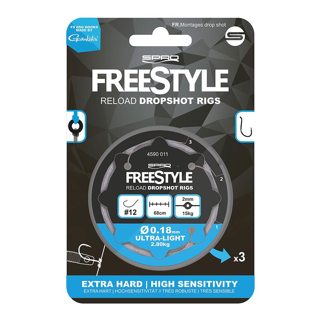 Freestyle Reload Dropshot Rig 0,26mm strl 6