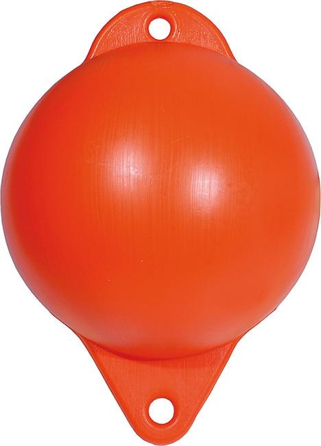 """Fiskekula Hård 6"""" Orange"""