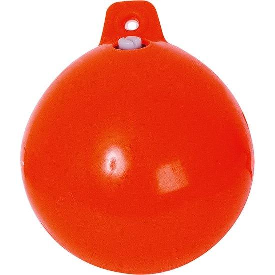 """Fiskekula Mjuk 6"""" Orange"""