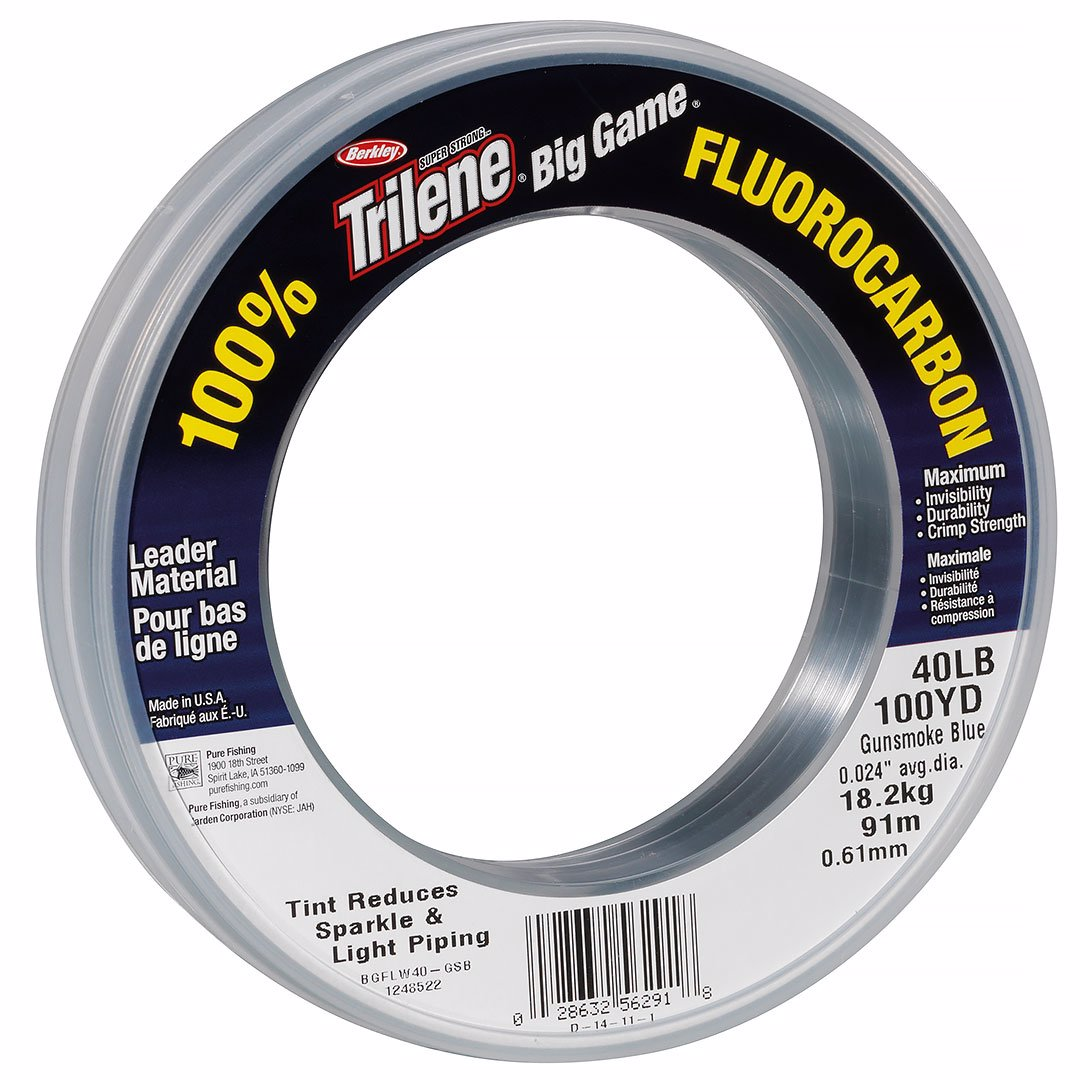 Trilene Big Game Fluorocarbon 0,91mm 69m