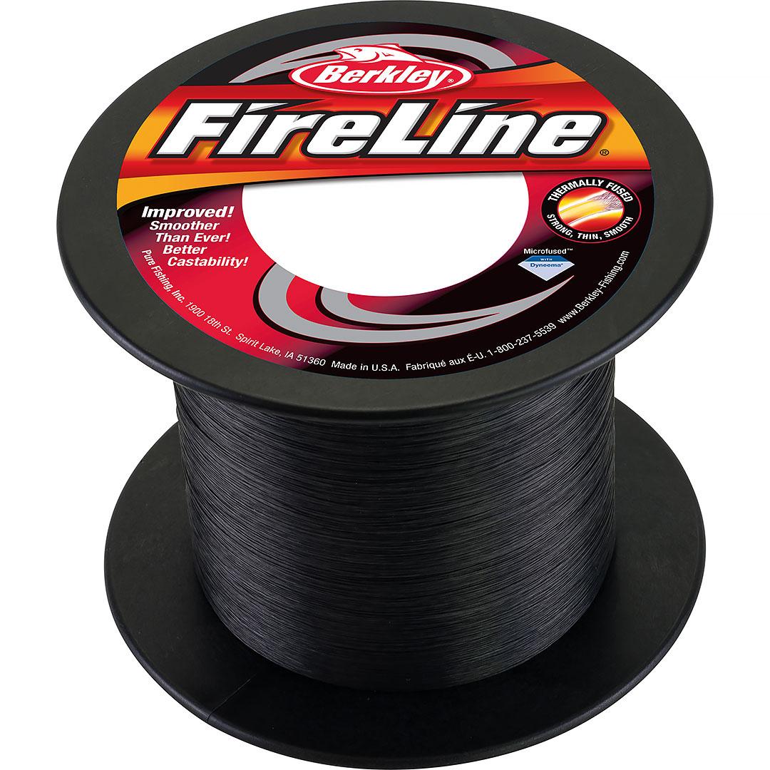 FireLine Smoke/Svart (påspolad ca 100-150m)