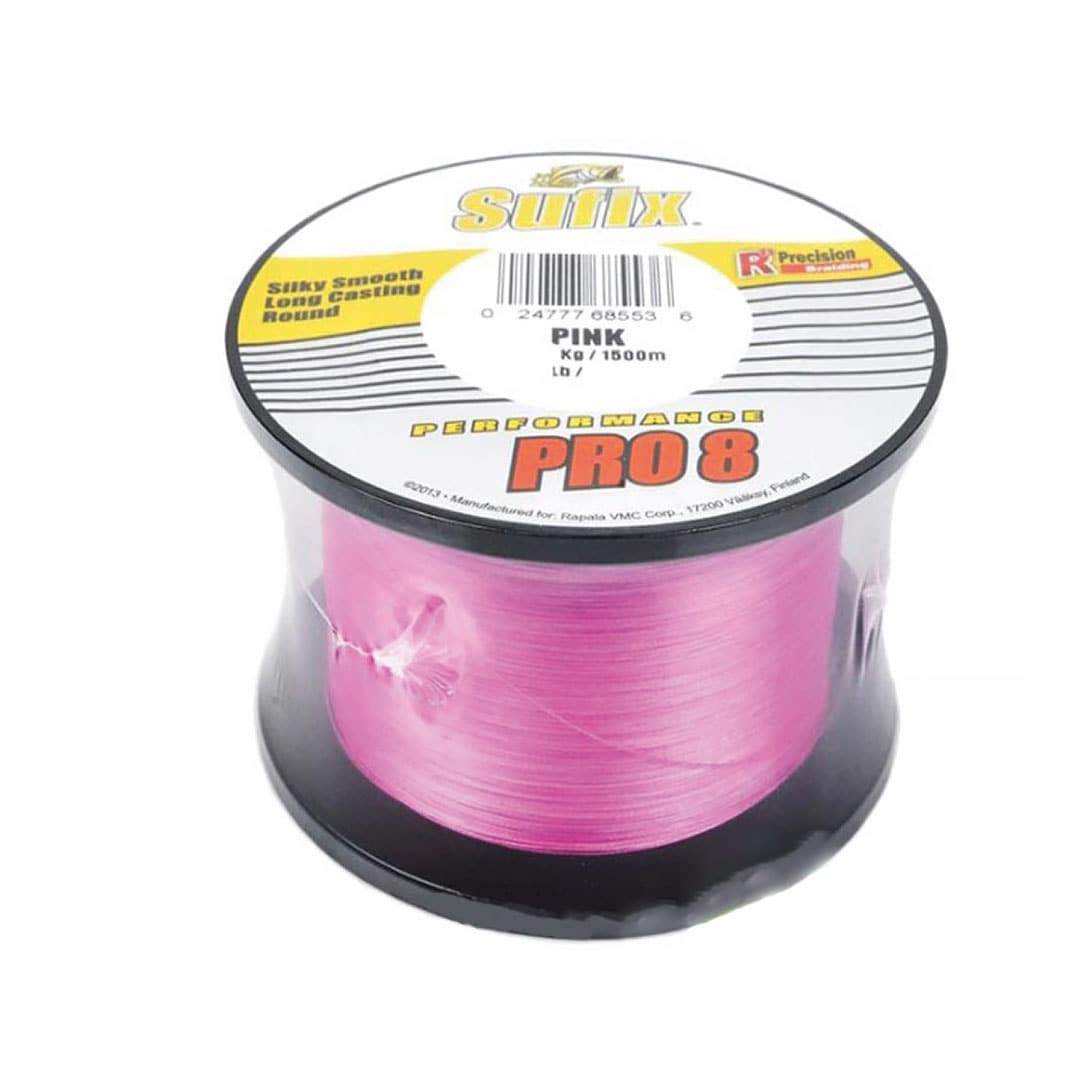 Sufix Performance Pro 8 Braid Rosa 1500m