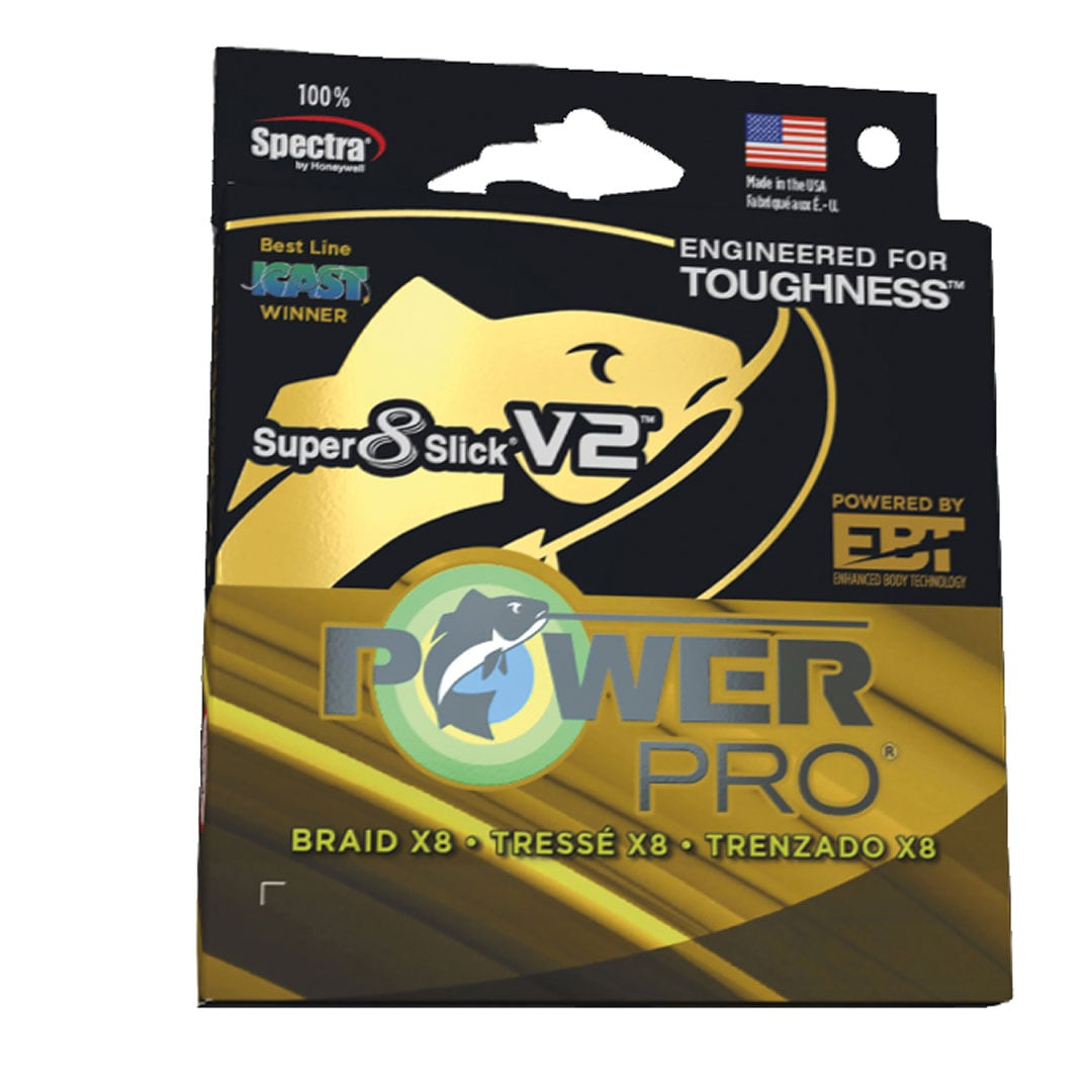 Power Pro Super 8 Slick V2 0 Moon Shine 135m