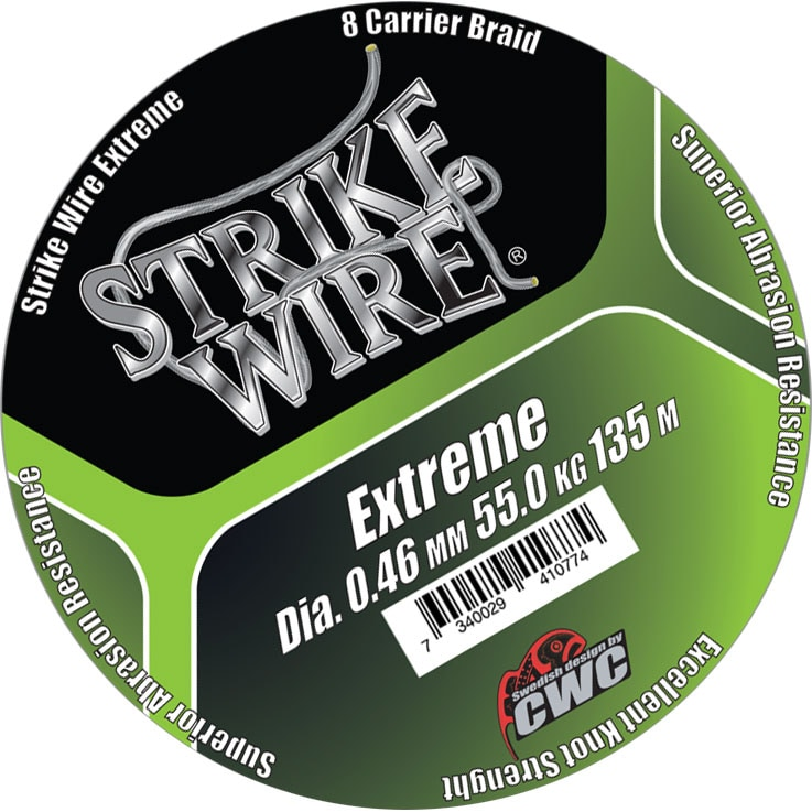 STRIKE WIRE Bulk 1500m 0.41mm