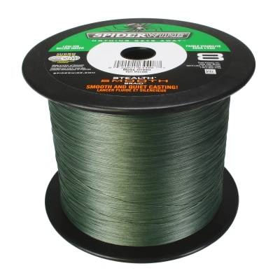 Spiderwire Stealth Smooth Green 3000m 0.17mm
