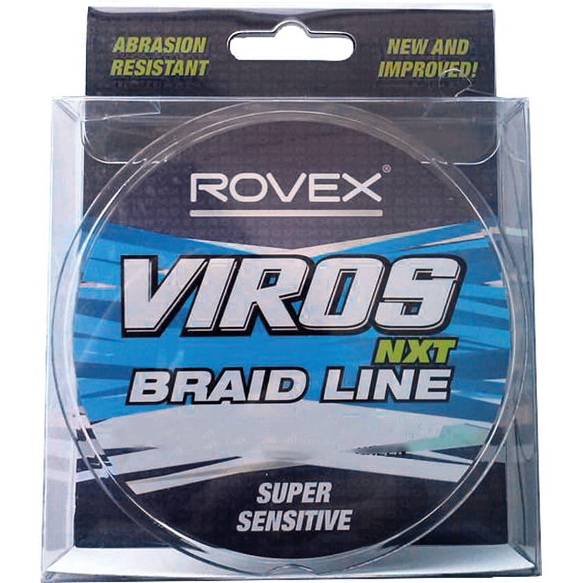 Rovex Viros Braid Gul 250m 0,38mm
