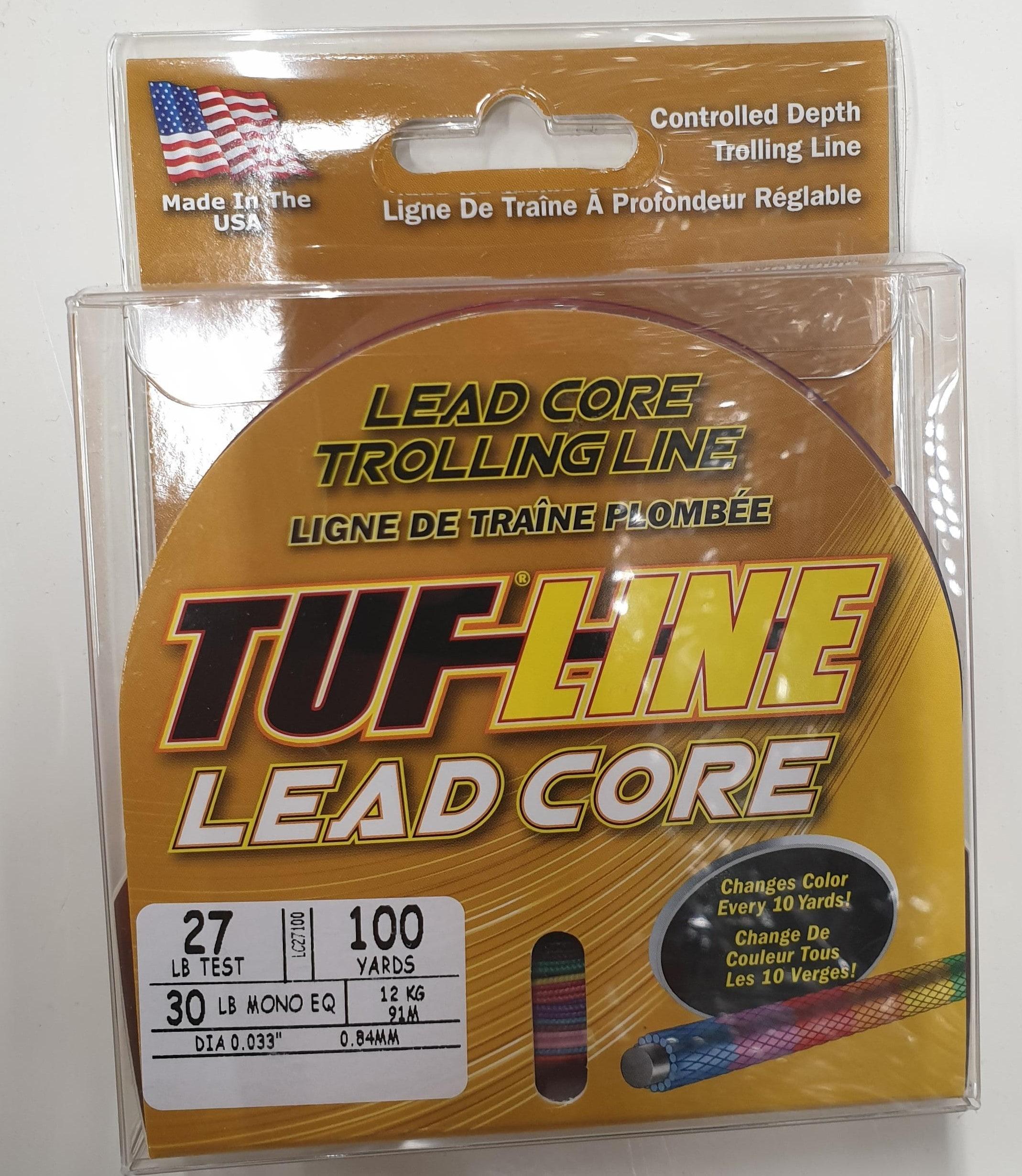Tuf-Line Leadcore 91m 27lbs