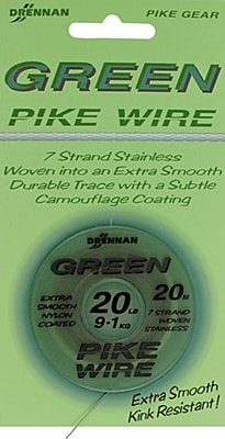 Green Pike Wire 20lb/0.37mm