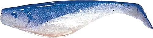 Shad 5cm Blå /pärlvit