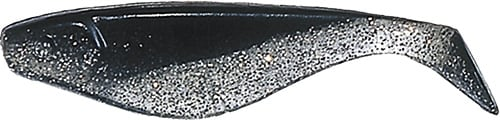 Shad 5cm Svart / clearglitter*