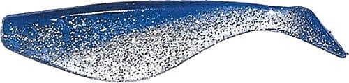 Shad 5cm Blå/klarglitter