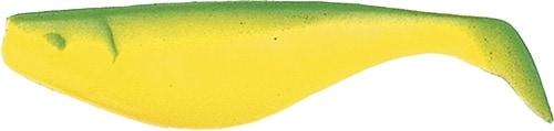 SHAD 10cm Grönrygg/hotchart 50st