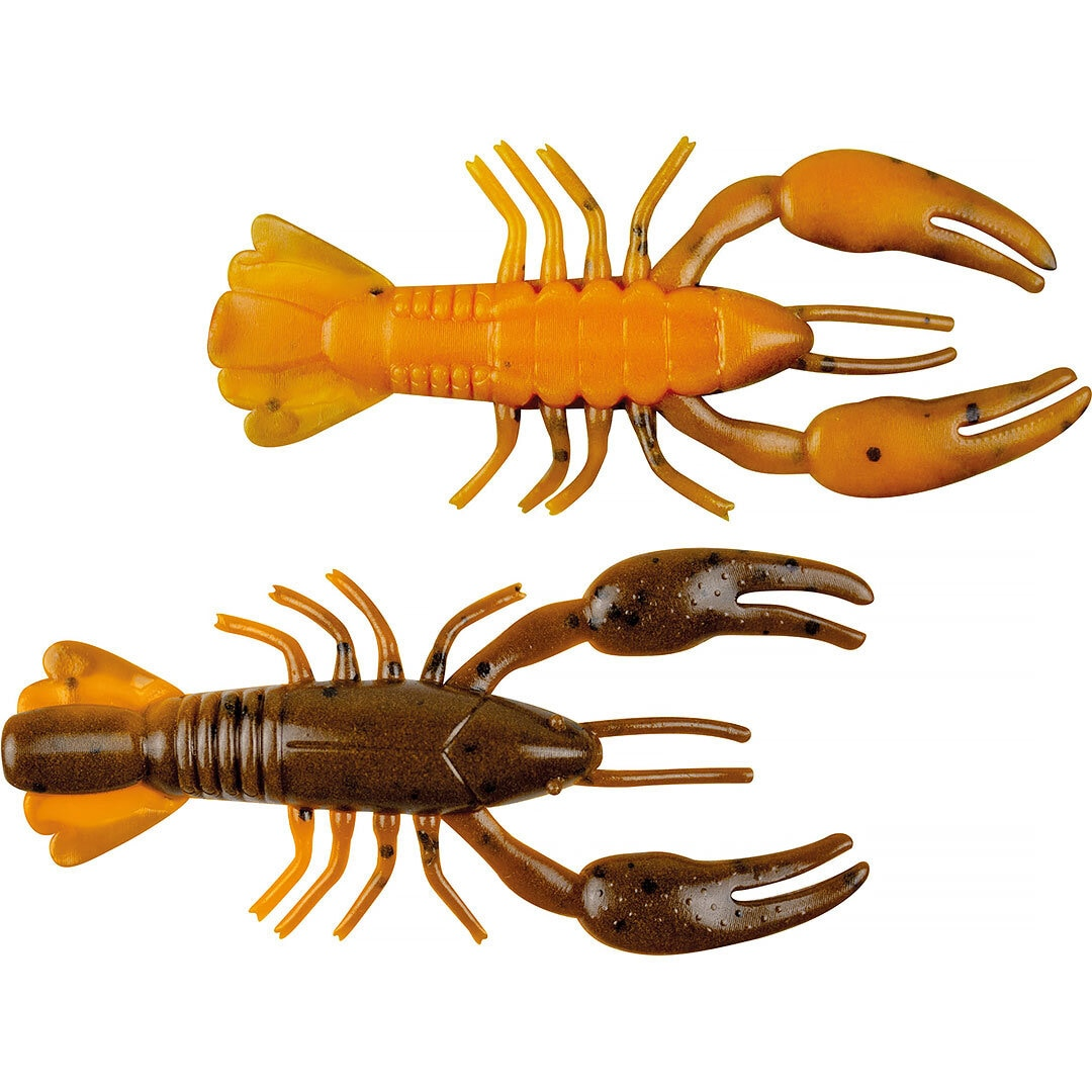Yum Ned Craw 6cm Brown Orange