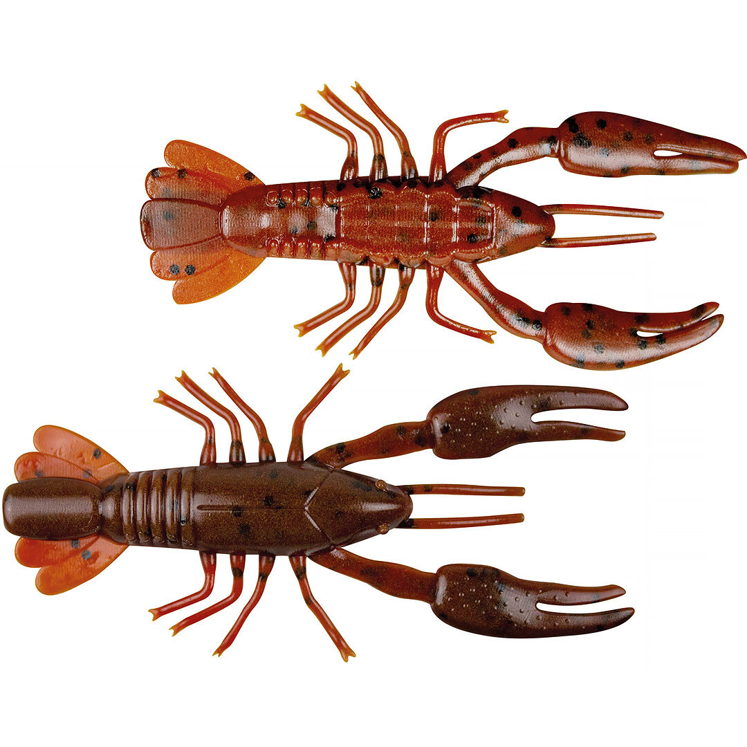 Yum Ned Craw 6cm Dark Brown/Red Brown