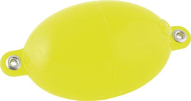 Buldo Oval 40/70mm Färg: Gul 10st