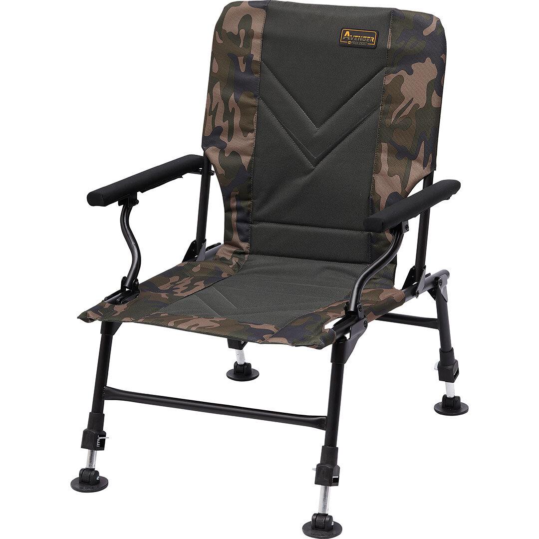 Prologic Avenger Relax Camo Chair W/Armrest