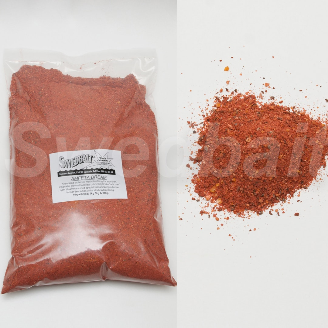 Swedbait Amfetabream Röd 2kg
