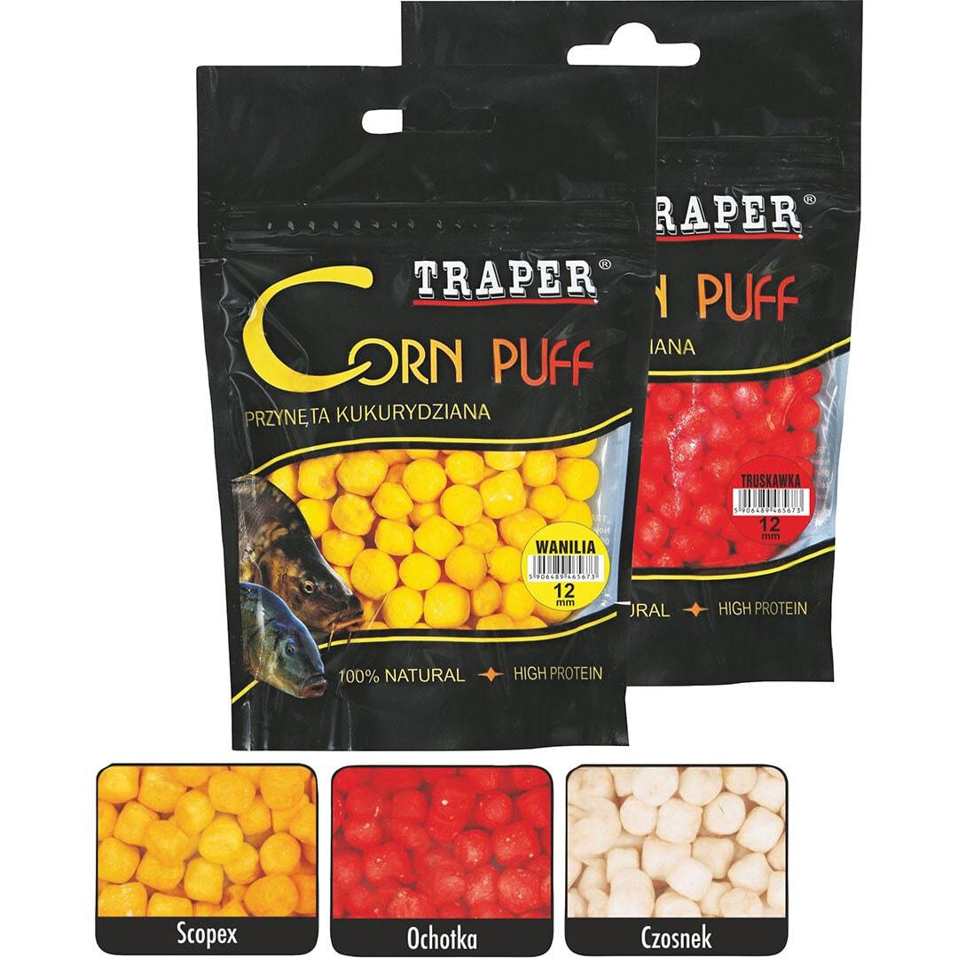 Traper Corn Puff 8mm Garlic
