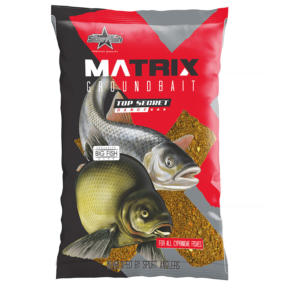Starfish Matrix Karp/Sutare/Ruda Röd 1kg