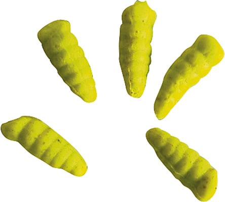 GULP! Alive! Maggots Chart