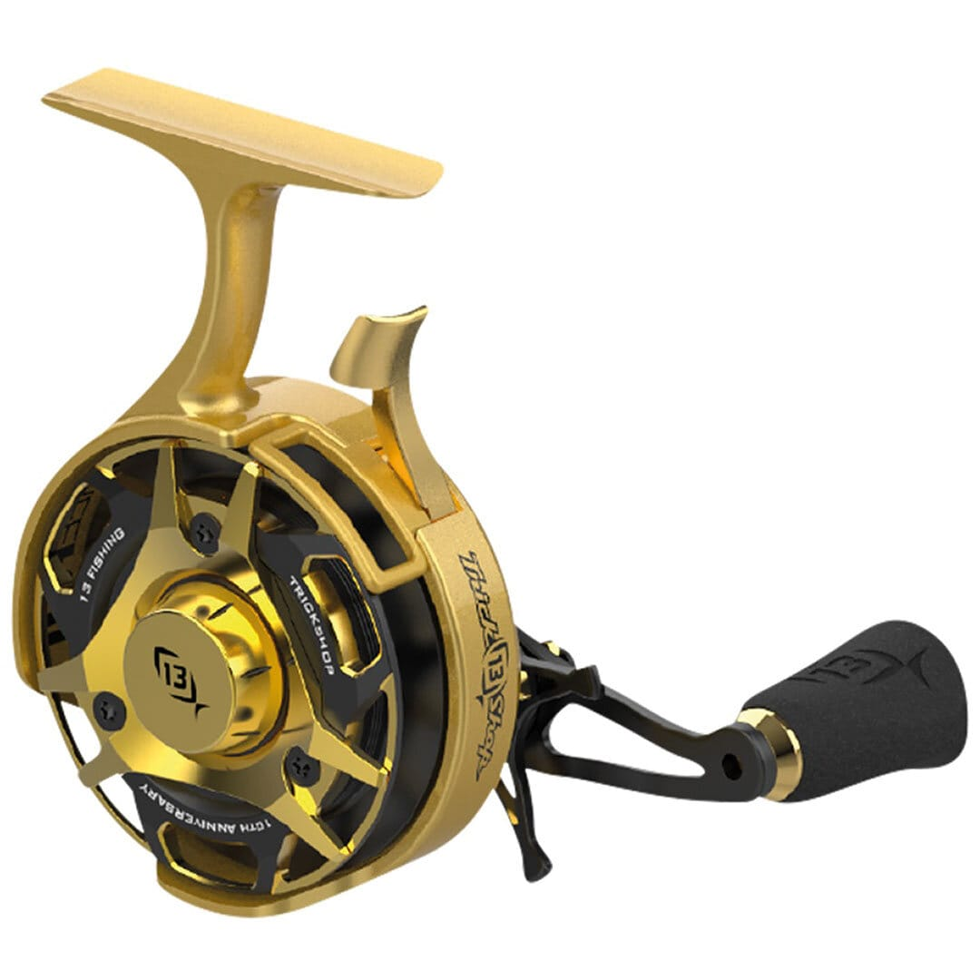 13 FISHING Black Betty FreeFall Carbon Trick Shop Special LH