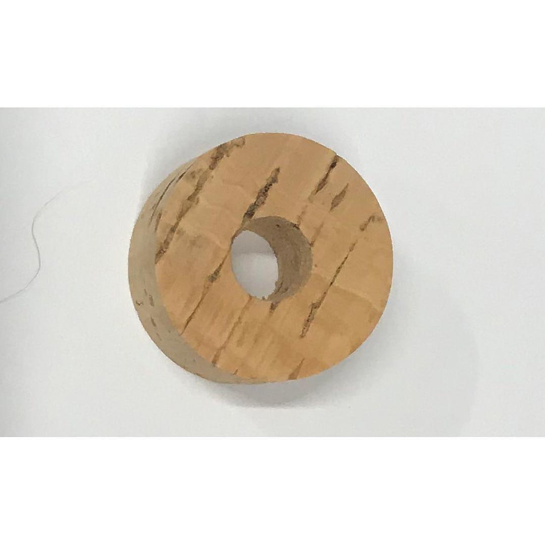 Korkskivor 27x15mm Hål 9mm