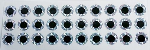 WTM Dekortape 30 Ögon ca12mm